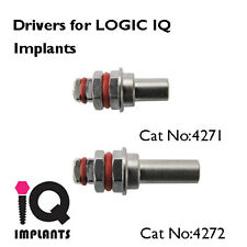 2 Drivers for Logic IQ Dental Implants Implant Surgical Instruments New
