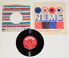 "Beatles rare 7"" Record 'Love Me Do' red label, UK 1962, 1st pressing 'NEMS' bag"