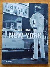 SIGNED - ELLIOTT ERWITT - NEW YORK - 2008 SOFTCOVER - FINE COPY
