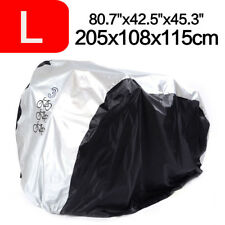 L Size Waterproof Nylon Cycle Cover Bicycle Bike Dust Resistant Garage Storage