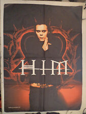 HIM  Unused  2005 TEXTILE POSTER FLAG      ville valo