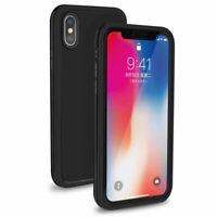 Housse en TPU Caoutchouc Hybride Étanche Antichoc - Pour Apple iPhone Xr (Noir)