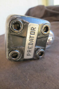 SCHWINN  PREDATOR RARE STEM 1980S FORGED CRUISER BMX  FREESTYLE RACING