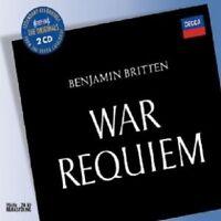 PEARS/VISHNEVSKA/BRITTEN/LSO - WAR REQUIEM (GA) 2 CD NEU