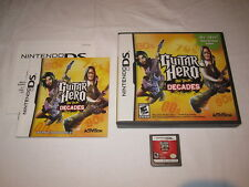 Guitar Hero: On Tour Decades (Nintendo DS) Complete Nr Mint!