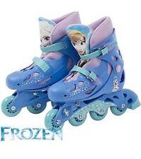 Disney Frozen  Adjustable Inline Skates Boots Size Between 13J - 3 NEW FREE P&P