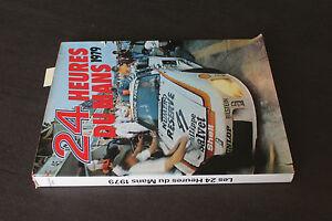 (B) Livre Les 24 heures du Mans 1979