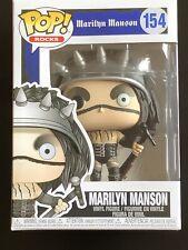 Funko Pop! Rocks Marilyn Manson #154 Mint in Pop Protector