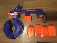 Nerf N-Strike Elite Hail-Fire Blaster For Part OR Repair. NOT WORKING!!
