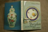 Sammlerbuch Porzellan aus Meissen, Porzellanfiguren, Weinlaub, Schwerter Marke