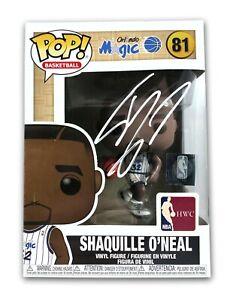Shaquille O'Neal Hand Signed Funko Pop JSA Authentic COA Orlando Magic Shaq