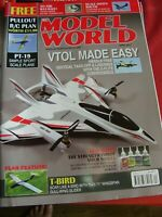 MODEL AIRCRAFT RCMW RC MODEL WORLD APRIL 2017 PT-19 SPORT PLAN T-BIRD GLIDER