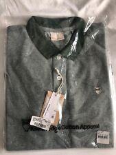 Knowledge Cotton Apparel Polo Shirt Mens M Sz Green 100% Organic Cotton