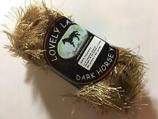 Dark Horse Yarns Lovely Lash #204 Tan Eyelash Yarn 50 Gram 92 Yards
