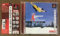 X Game Pro Boarder - PS Playstation PS1 - JAPAN Import - Spincard Vgood