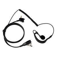 G-Shape Earpiece Headset for MOTOROLA Radio MTH600 MTH800 MTH850 MTP850 as