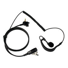 1Pin G-Shape Earpiece Headset for MOTOROLA Radio MTH600 MTH800 MTH850 MTP850 as