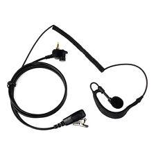 1Pin G-Shape Earpiece Headset for MOTOROLA Radio MTH600 MTH800 MTH850 MTP850 as