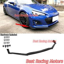 STi tS Style Front Bumper Lip (Urethane) Fits 17-18 Subaru BRZ