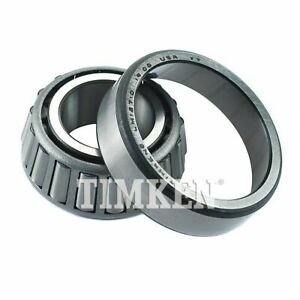 Wheel Bearing and Race Set-Race Set Front Outer,Rear Outer TIMKEN SET12