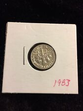 1983 Dime 10 Cents Collectible Coin US Currency