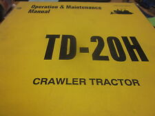 Dresser TD-20H Crawler Tractor Operation & Maintenance Manual