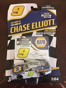 Chase Elliott 1/64 #9 Napa Cup Series Champion Nascar Authentics 2021 Wave 3