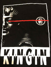 Last Kings Men's M (MEDIUM) Black T-shirt KINGIN