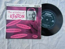 STAN KENTON EP THE ARTISTRY OF capitol / eap 1 20070... EX-