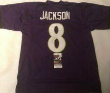 Lamar Jackson Autographed Baltimore Ravens Purple Jersey JSA COA