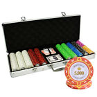500pcs 14G MONTE CARLO POKER ROOM CASINO POKER CHIPS SET with ALUMINUM CASE