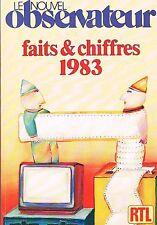 Le Nouvel Observateur   Faits et chiffres 1983 :