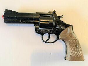NEW Gonher Toy Colt Police Detective Style Revolver Cap Gun - Black