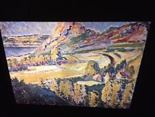 "Emily Carr ""Autumn In France"" Canadian Art 35mm Slide"