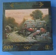 Thomas Kinkade Painter of Light Olde Porerfield Tea Room Piece Puzzle Sealed box