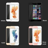 For iPhone SE 8 7 6s & Plus Models Full Cover 5D Tempered Glass Screen Protector
