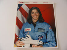 Teacher in Space Shuttle Challenger Astronaut Barbara Morgan Signed NASA STS-51L
