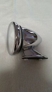 Mini/Jaguar Chrome Bullet Shape Mirror