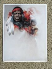 Ozz Franca Native American Art Print Lot - Signed and Numbered