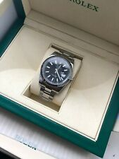 Rolex Datejust 41MM 116334 Stainless Steel Black Dial Watch