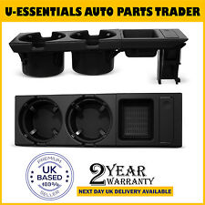FOR BMW E46 Black Cup Holder & Coin Holder 320 323 325 328 330 316 318 M3