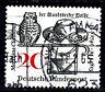 462 Vollstempel gestempelt in Frankfurt Main BRD Bund Deutschland Jahrgang 1965