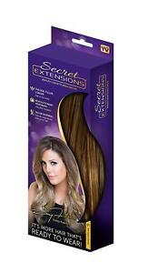 Secret Extensions Hair Extensions Daisy Fuentes Headband 01 Dark Golden Blonde