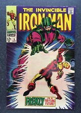 Iron Man #5 Marvel Comics, Sept 1968 - Excellent Condition - FREE SHIPPING
