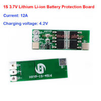 1S 3.2V 3.7V 16A Li-ion ion Lithium Battery 18650 BMS Protection PCB Board Cell