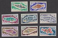 TAAF FSAT sc# 37-44 MNH OG full Fish stamp set 1971 French Southern Antarctic