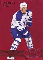 12-13 Fleer Retro Mats Sundin /100 PMG Red Metal Maple Leafs 2012