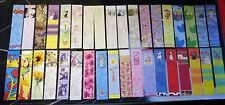 50 MIX BOOK MARKS Kids Xmas Stocking Party Bags School Boot Jumble Sale Job Lot