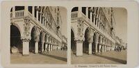 Italia Venezia Palazzo Ducale Foto Stereo Vintage Analogica PL60OYL5