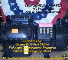 Copeland Discus 6DH-1-3500-FSD W/ One Year Warranty